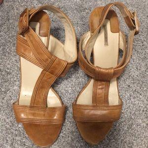 Max Studio nude sandals